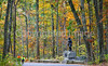Cyclist(s) in Gettysburg National Military Park, autumn-1006 - 72 ppi