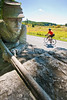 Cyclist at Gettysburg National Military Park, Pennsylvania-M3-0743 - 72 ppi