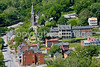 Cyclists in Harpers Ferry, West Virginia-D3C1--0029 - 72 ppi