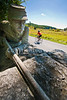Cyclist at Gettysburg National Military Park, Pennsylvania-M3-0745 - 72 ppi