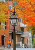 Cyclist(s) in Harpers Ferry, West Virginia, autumn- - 72 ppi