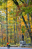 Cyclist(s) in Gettysburg National Military Park, autumn-1012 - 72 ppi