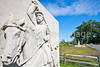Cyclist at Gettysburg National Military Park, Pennsylvania-M3-0616 - 72 ppi