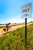 Cyclist on MRT west of Ripley, TN, on state hwy  19 - C2-0018 - 72 ppi