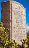New Mexico - Battle of Valverde monument ear Fort Craig Nat'l Historic Site - D6-C3-0193 - 72 ppi