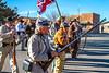 New Mexico - Reenactors of Sibley's Texas Confederates in Socorro - 2-24-12-C3-0133 - 72 ppi