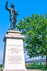 Jefferson Davis statue on Memphis, Tennessee, waterfront - 1 - 72 ppi-2-2