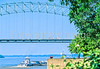 Downtown Memphis, Tennessee; Hernando De Soto Bridge across Mississippi River - 5 - 72 ppi-2