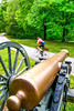 Thin-tire cyclist at Fort Pillow State Historic Area in Tennessee - 72 dpi - C2 -  -0059-2-2