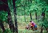 Mountain bike tourer on Colorado Trail - 9 - 72 ppi