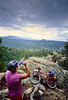 Mountain bike tourer on Colorado Trail - 1 - 72 ppi