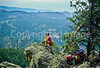Mountain bike tourer on Colorado Trail - 3 - 72 ppi