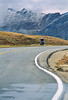 Cyclist on Trail Ridge Road in Colorado's Rocky Mountain National Park - 1 - 72 ppi