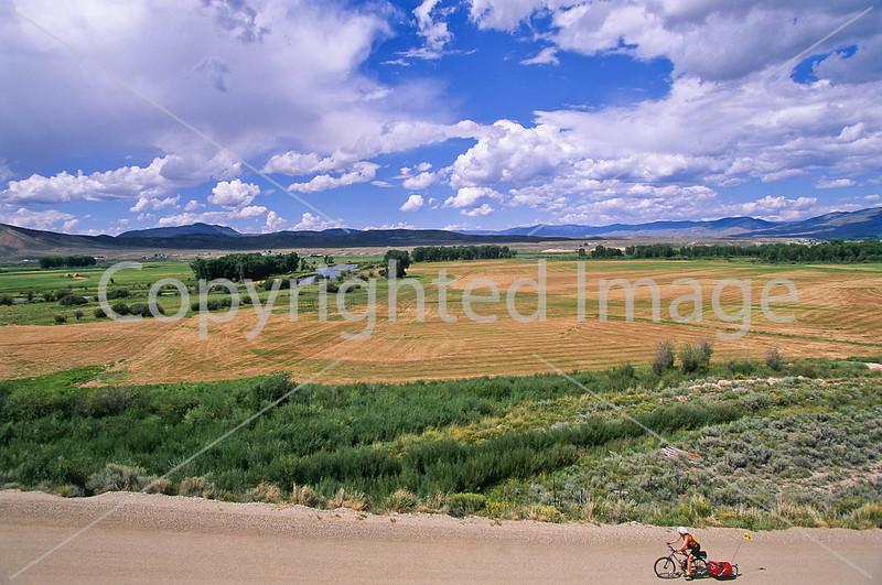 Tourer on Great Divide & Great Parks South Trails near Kremmling, Colorado - 24 - 72 ppi