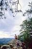 Mountain bike tourer on Colorado Trail - 13 - 72 ppi