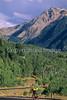 Tourer on Hwy 145 between Ophir & Telluride, Colorado - 1 - 72 ppi