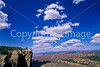 Utah - Mountain bikers above Fisher Towers near Castle Valley - 7 - 72 ppi