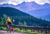 Cyclist at Ute Pass on Great Divide Trail near Silverthorne, Colorado - 5 - 72 ppi