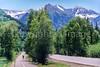 Biker(s) on bike path just outside of Telluride, Colorado - 1 - 72 ppi
