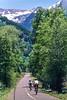 Biker(s) on bike path just outside of Telluride, Colorado - 4 - 72 ppi