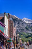 Bikes & bikers in downtown Telluride, Colorado - 6 - 72 ppi