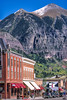 Bikes & bikers in downtown Telluride, Colorado - 3 - 72 ppi