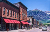 Bikes & bikers in downtown Telluride, Colorado - 4 - 72 ppi