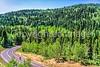 Cycle Utah - descent from Cedar Breaks Nat'l Mon , UT - 121 - 72 ppi