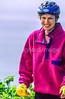 Touring cyclist on Cabot Trail, Cape Breton Island in Nova Scotia, Canada - 7 - 72 ppi - final-3