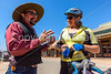 ACA - Cyclist on Allen Street in Tombstone, Arizona - D6-C2-0115 - 72 ppi
