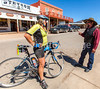ACA - Cyclist on Allen Street in Tombstone, Arizona - D6-C2-0127 - 72 ppi