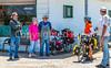 ACA - TransAm rider(s) with locals at Lizard Lips Grill & Deli north of Toronto,  Kansas - C3-0154 - 72 ppi-2