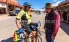 ACA - Cyclist on Allen Street in Tombstone, Arizona - D6-C2-0101 - 72 ppi