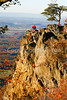 Biker on Blue Ridge Parkway - Ravens Roost-2489 - 72 dpi