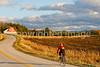 Biker on SR118 near Berkshire in northwest Vermont-0468 - 72 ppi