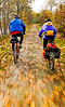 Cyclist(s) on Vermont's Missisquoi Valley Rail Trail - 2 -0322 - 72 ppi
