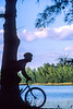 Cyclist in Quiet Waters Park near Fort Lauderdale, Florida - 1-Edit - 72 ppi
