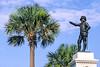 Ponce de Leon statue in St  Augustine, Florida - 1 - 72 ppi