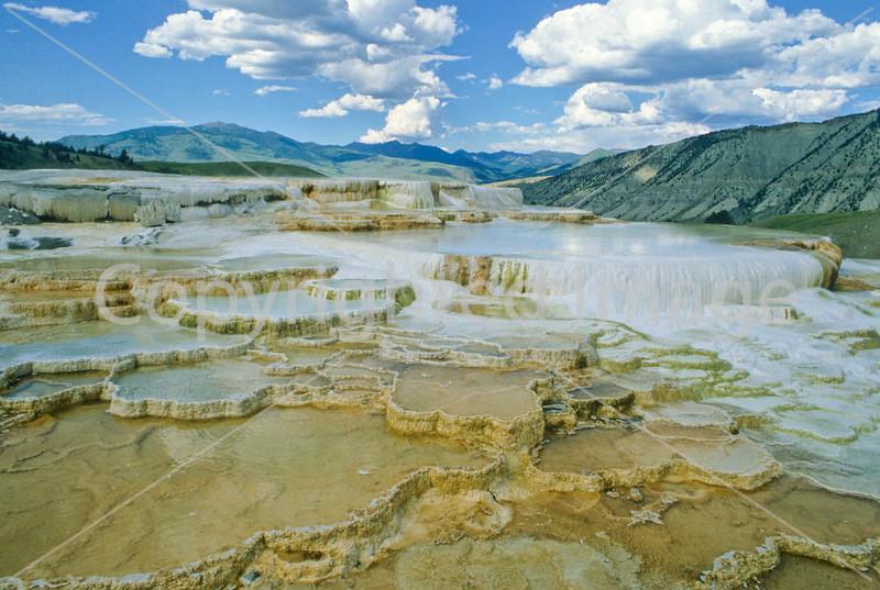Mammoth Hot Springs, Yellowstone - 4 - 72 dpi