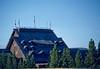 Yellowstone NP - Old Faithful Inn through geysr steam - 2 - 72 dpi