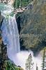 Yellowstone NP - Lower Falls of Yellowstone River - 72 dpi