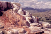Yellowstone NP - Mammoth Hot Springs & Gallatin Range  - - 72 dpi