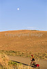 Tourer on Great Divide Trail near Atlantic City & South Pass City, Wyoming - 1 - 72 ppi