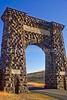 Yellowstone Nat  Park - Roosevelt Arch at North (Gardiner) Entrance - 72 dpi-2