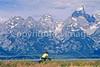 ACA bike tourers in Tetons Nat'l Park, Wyoming - 23 - 72 ppi