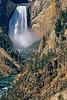 Yellowstone NP - Lower Falls of Yellowstone River - 2c - 72 dpi