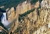 Yellowstone NP - Lower Falls of Yellowstone River - 4c - 72 dpi