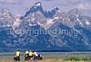 ACA bike tourers in Tetons Nat'l Park, Wyoming - 24 - 72 ppi