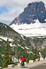 Glacier - ALA biker on Going-to-the-Sun Road - C3-0220 - 72 ppi