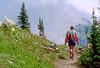 HI mt glacier 42 - ORps - jpeg - Hiker(s) in Montana's Glacier National Park